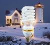 T4 half spiral 36w energy saving lamp
