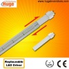 T8 LED tube with isolated replaceable driver N
