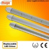 T8 SMD3528 led tube light 2Ft 3Ft 4Ft 5Ft with replaceable LED driver M