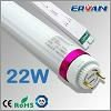 TUV standard Lockable Rotating End Cap Emergency LED Fluorescent Tube Light