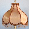 VICTORIAN EMBROIDERY FLORALS LAMP SHADES (S-4137)
