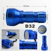 aluminum high brightness 32 led torch D32