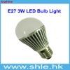 e27 3w dimmable led bulbs