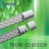 high brightness SMD t8 led tube lighting(6000-7000K)(CE,ROHS)(T8150-324DA3528)