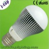 high luminous efficiency 5w LED spot light bulb