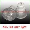 high power 1/3/4w aluminum mr16 led bulb
