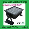 high power 18*3W Blue LED wall washer