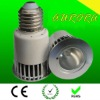 high power E27 base 5w led rgb spotlight