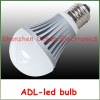 high power aluminum 3/5/7w e27 led bulb light