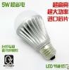 high power led light bulb 6W
