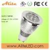high-quality 4W led GU10 spotlight by elaborate manufacture:Edison chip 4*1w;GU10/E27/E12/E14/E17;240-300lm;size:D50*66mm