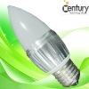 indoor lighting E14 E27 3w LED candle light bulb