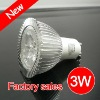 led spotlight high quality GU10 3W 230LM
