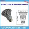 par20 7w 400-450lm dimmable led light bulb