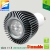 replace 40/50w halogen spot, 110v/220v/240v dimmable 6w led gu10 spots