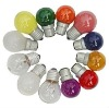 sell 5w round light bulbs(clear&frosted&color)