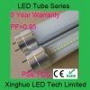 transparent 3528 LED tube