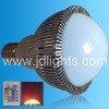 with IR remote controller 6w E27 RGB bulb